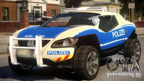 VW Concept T German Police Car для GTA 4