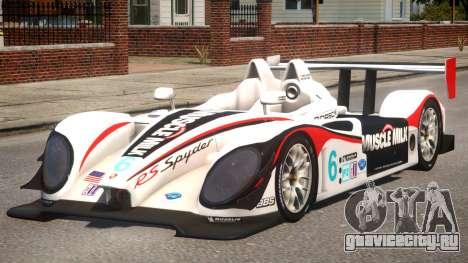 Porsche RS Spyder PJ4 для GTA 4