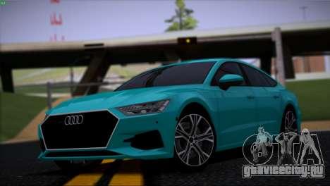 Audi A7 HQ для GTA San Andreas