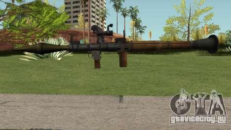 RPG-7 HQ для GTA San Andreas