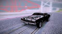 Dodge Challenger RT 1970 Black для GTA San Andreas
