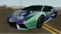 Lamborghini Reventon Itasha Hinatsuru для GTA San Andreas