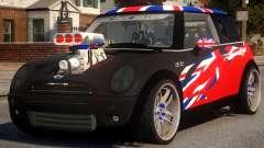 Mini Cooper S V8 UK для GTA 4