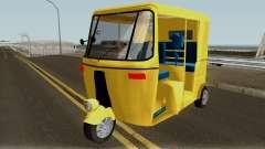 Real Indian Rickshaw для GTA San Andreas