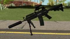 M4A1 Black для GTA San Andreas