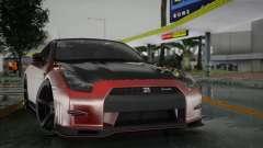 Nissan GTR Red для GTA San Andreas