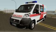Fiat Ducato Lithuanian Ambulance для GTA San Andreas