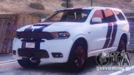 Dodge Durango SRT HD 2018 1.6 для GTA 5