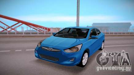 Hyundai Solaris Stock для GTA San Andreas