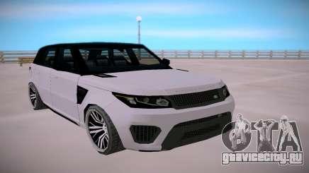 Land Rover Range Rover SVR SA StyledLow Poly для GTA San Andreas