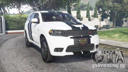 Dodge Durango SRT Mopar 2018 v1.9.1 [add-on] для GTA 5