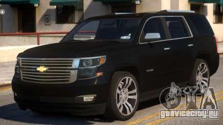 Chevrolet Tahoe 2015 V1.0 для GTA 4