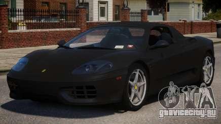 2000 Ferrari 360 Spider V1.1 для GTA 4