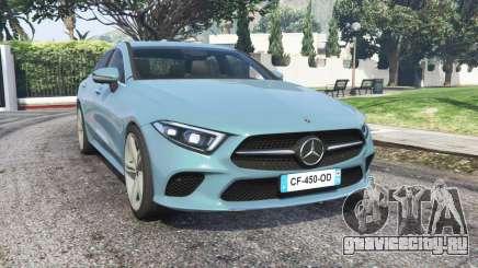 Mercedes-Benz CLS 450 (C257) 2018 v1.1 [replace] для GTA 5