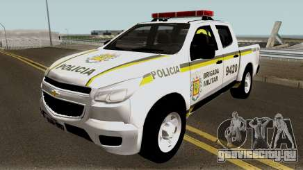 Chevrolet S-10 Brazilian Police для GTA San Andreas