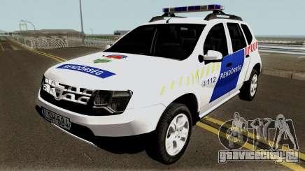 Dacia Duster Rendorseg 2017 для GTA San Andreas