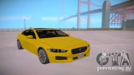 Jaguar XE-S 2015 SA Styled Low Poly для GTA San Andreas