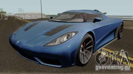Overflod Entity XXR GTA V HQ для GTA San Andreas
