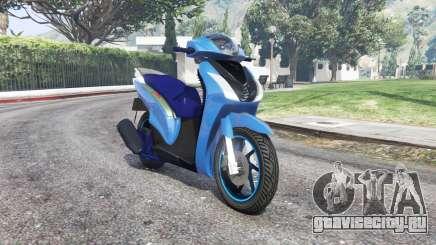 Honda SH150i v1.1 [replace] для GTA 5