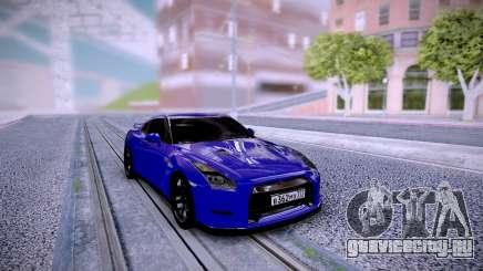 Nissan GT-R R35 Dima Gordey для GTA San Andreas