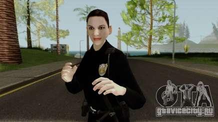 Female Cop LSMPD GTA V для GTA San Andreas
