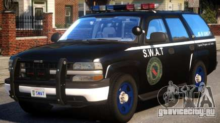 Chevrolet Tahoe Z71 Police (SWAT) для GTA 4