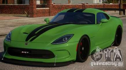 Dodge Viper 2013 PJ2 для GTA 4