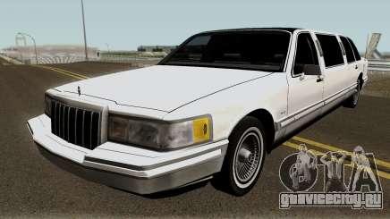 Lincoln Towncar Limo 1991 для GTA San Andreas