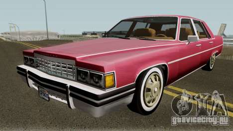 Cadillac Fleetwood Normal 1985 v1 для GTA San Andreas