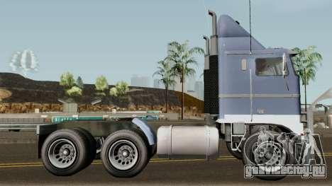 Jobuilt Hauler & Terminator 2 GTA V IVF для GTA San Andreas вид сзади