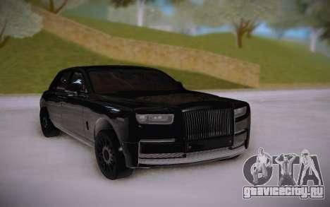 Rolls-Royce Phantom Black для GTA San Andreas
