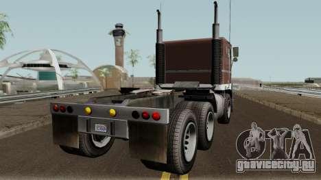 Jobuilt Hauler & Terminator 2 GTA V для GTA San Andreas вид справа