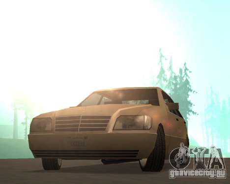 Mercedes-Benz w140 S600 Low Poly для GTA San Andreas