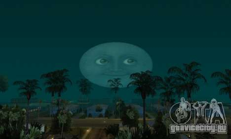 Реалистичная Луна для GTA San Andreas