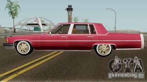 Cadillac Fleetwood Normal 1985 v1 для GTA San Andreas вид слева
