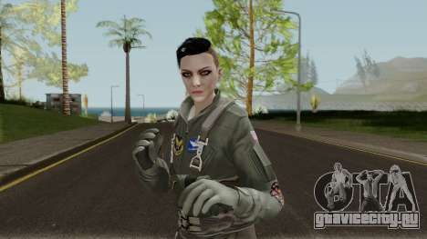 GTA Online Random Skin 6 USAF Pilot для GTA San Andreas