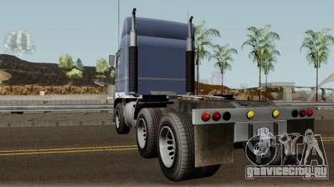 Jobuilt Hauler & Terminator 2 GTA V IVF для GTA San Andreas вид сзади слева