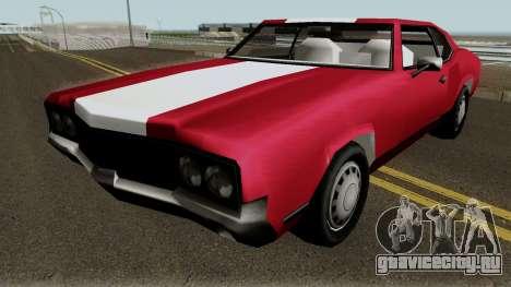 New Sabre IVF для GTA San Andreas