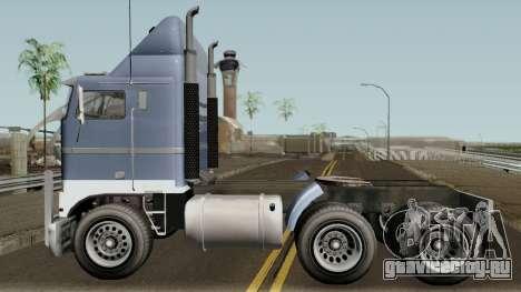 Jobuilt Hauler & Terminator 2 GTA V IVF для GTA San Andreas вид слева