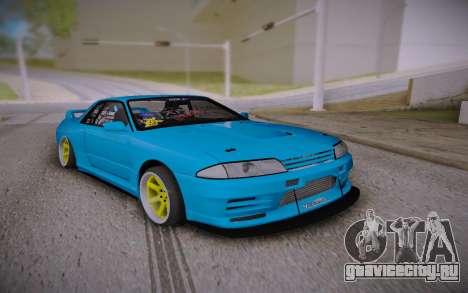 Nissan Skyline GT-R R32 JDM Style для GTA San Andreas