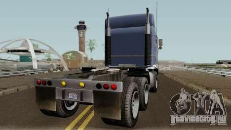 Jobuilt Hauler & Terminator 2 GTA V IVF для GTA San Andreas вид справа