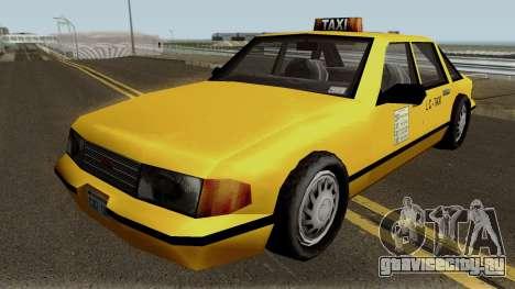 New Taxi IVF для GTA San Andreas