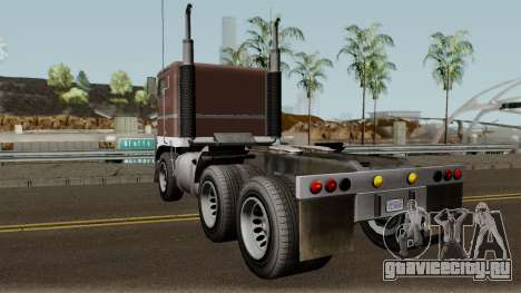 Jobuilt Hauler & Terminator 2 GTA V для GTA San Andreas вид сзади слева