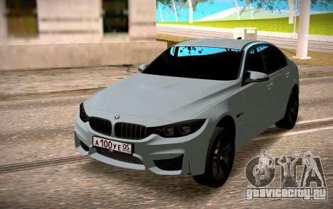 BMW M3 Stock для GTA San Andreas