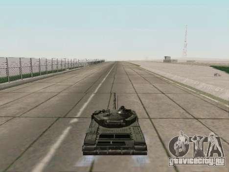 Т-72Б3 для GTA San Andreas