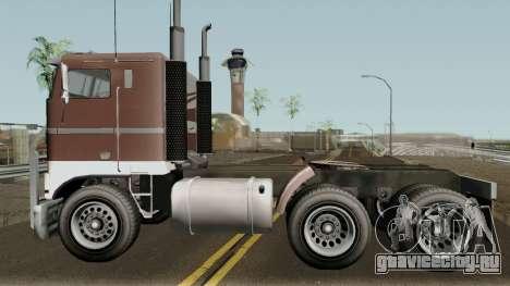 Jobuilt Hauler & Terminator 2 GTA V для GTA San Andreas вид слева