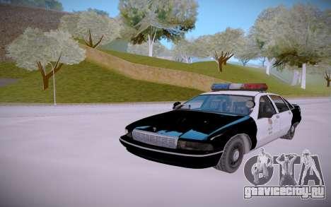 Chevrolet Caprice 1992 Police LQ для GTA San Andreas