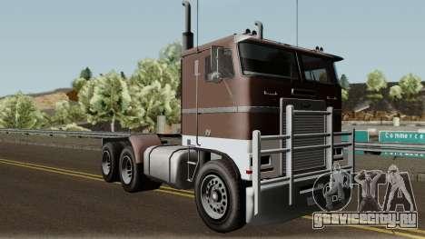 Jobuilt Hauler & Terminator 2 GTA V для GTA San Andreas вид изнутри