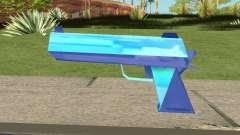 Desert Eagle Blue для GTA San Andreas
