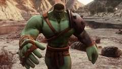 Gladiator Hulk (Planet Hulk) 2.1 для GTA 5